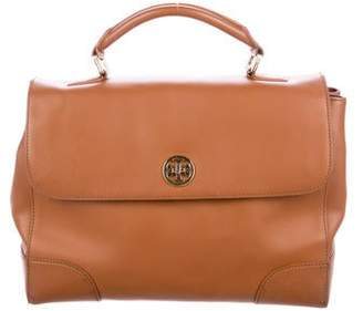 Tory Burch Leather Robinson Satchel