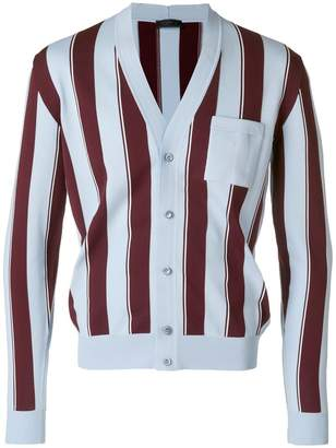 Prada striped cardigan