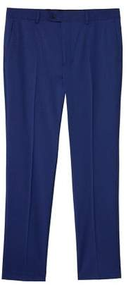 Mango Man MANGO MAN Micro print slim-fit suit trousers