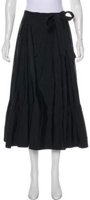 Dries Van Noten Linen-Blend Skirt