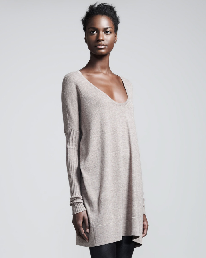 The Row Scoop-Neck Wool Sweater