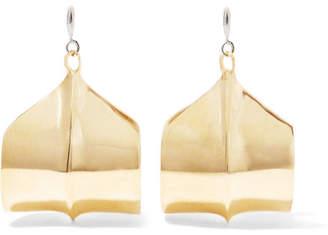 Ariana Boussard-Reifel - Meridian Gold-tone Earrings