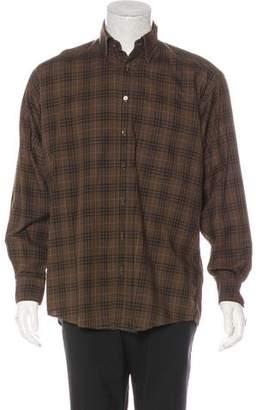 John Varvatos French Cuff Dress Shirt