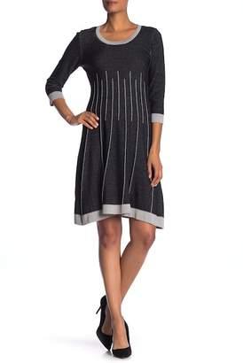 Nine West Scoop Neck Sweater Dress