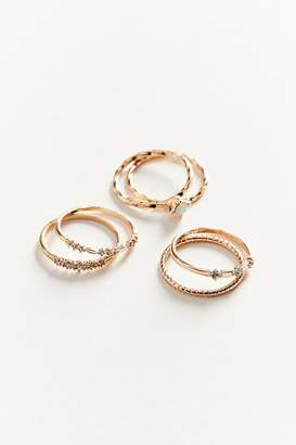 Urban Outfitters Simone Delicate Ring Set