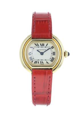 Cartier Vintage Red White gold Watches