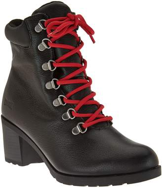 Cougar Waterproof Leather Lace-up Boots - Angie