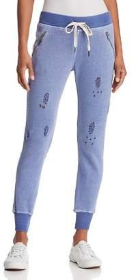 N. PHILANTHROPY Gravity Distressed Jogger Pants