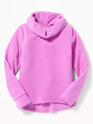 Old Navy Micro Performance Fleece Cowl-Neck Pullover for Girls