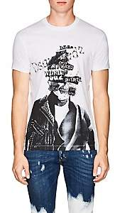 DSQUARED2 Men's Abstract-Logo-Skull Cotton T-Shirt