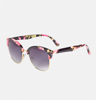 Avenue Miki Floral Metal Sunglasses