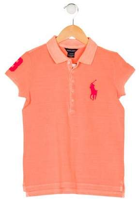 Ralph Lauren Girls' Short Sleeve Top w/ Tags