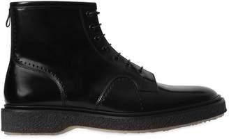 Adieu Polished Leather Boots