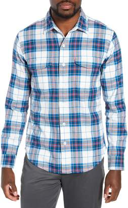 Bonobos Slim Fit Plaid Flannel Shirt