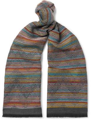 Missoni Fringed Wool Scarf