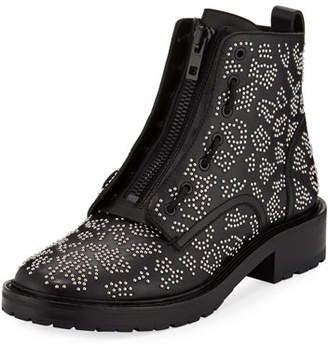 Rag & Bone Cannon Studded Leather Zip Boots