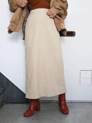Ungrid (アングリッド) - アングリッド [Ca]コーデュロイミドル丈スカート