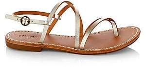 Soludos Women's Zoe Strappy Leather Flat Sandals
