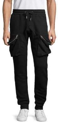 Mostly Heard Rarely Seen Cotton Blend Jogger Pants
