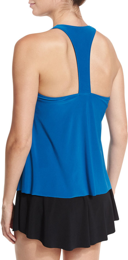 Magicsuit Taylor Tankini Underwire Swim Top, Blue (Available in D-DD Cup Sizes) 4