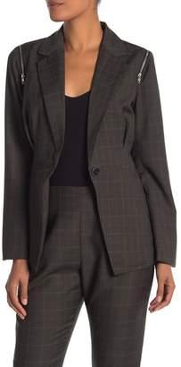 Walter W118 by Baker Elsa Plaid Belted Jacket