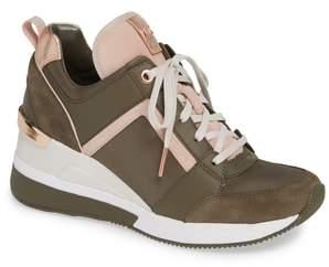 MICHAEL Michael Kors Georgie Wedge Sneaker