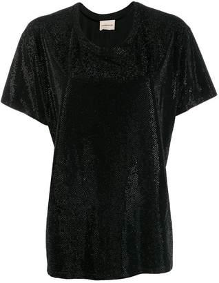 Alexandre Vauthier sparkle T-shirt