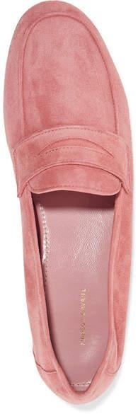 Mansur Gavriel - Classic Suede Loafers - Pink 3