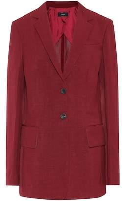 Joseph Cameo linen-blend blazer