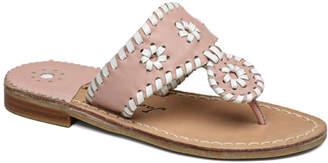 Jack Rogers Girls' Miss Palm Beach Leather Sandal