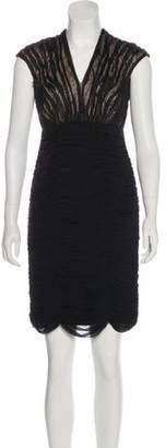 Tadashi Shoji Embellished Knee-Length Dress