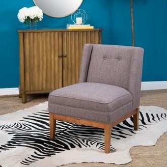 Devon & Claire Hansen Mid Century Grey Accent Chair