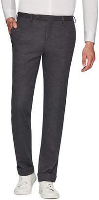 Zanella Josh Jersey Wool Slim Straight-Leg Dress Trousers