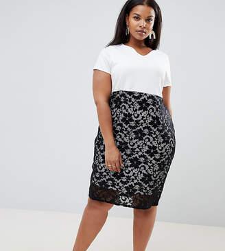 Plus Size Midi Length Dress - ShopStyle