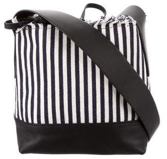 Loeffler Randall Striped Bucket Bag w/ Tags