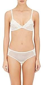 YASMINE ESLAMI Women's Morgane Soft Bra - White