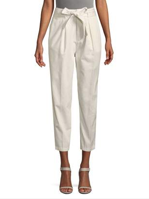 Free People Women's High-Waisted Cropped Pants