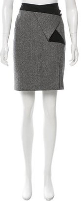 Karen Millen Herringbone Pencil Skirt $80 thestylecure.com