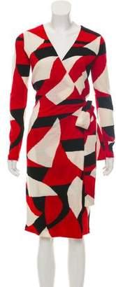 Diane von Furstenberg Wool Wrap Dress