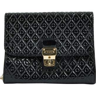 Tod's Patent leather clutch bag