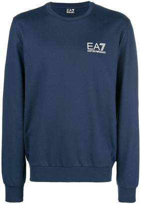 Emporio Armani Ea7 printed logo sweatshirt