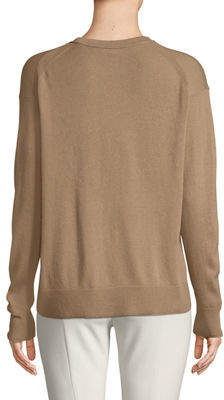 Vince Boxy Wool-Blend Pullover Sweater