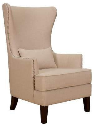 Picket House Furnishings Karson High Back Upholstered Chair Natural - Picket House Furnishings®