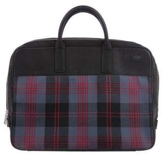 Jack Spade Leather-Trimmed Briefcase