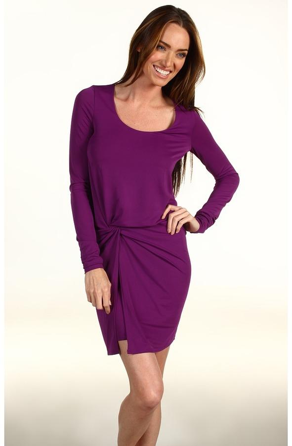 Halston Heritage - Side-Knot Dress
