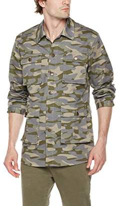 Co Quality Durables Men's Stretch Canvas Shirt Jacket Camo XXL
