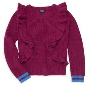 Splendid Little Girl's& Girl's x Margherita Missoni Ruffle Sweater