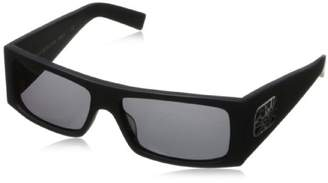 Black Flys Fly Detector Wrap Sunglasses