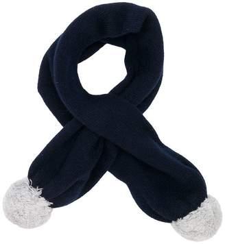 Il Gufo pompom scarf
