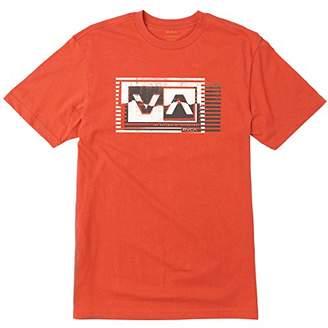 RVCA Men's Copy Box Short Sleeve T-Shirt